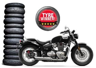 Triumph Bonneville Speedmaster 2018 Motorcycle Tyres Mynetmoto