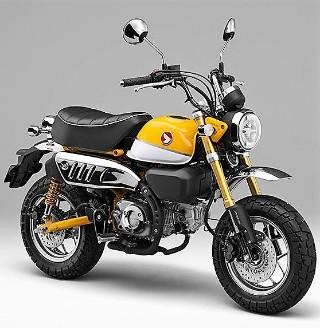 Zone à Faible Émission  Honda-monkey-tyres