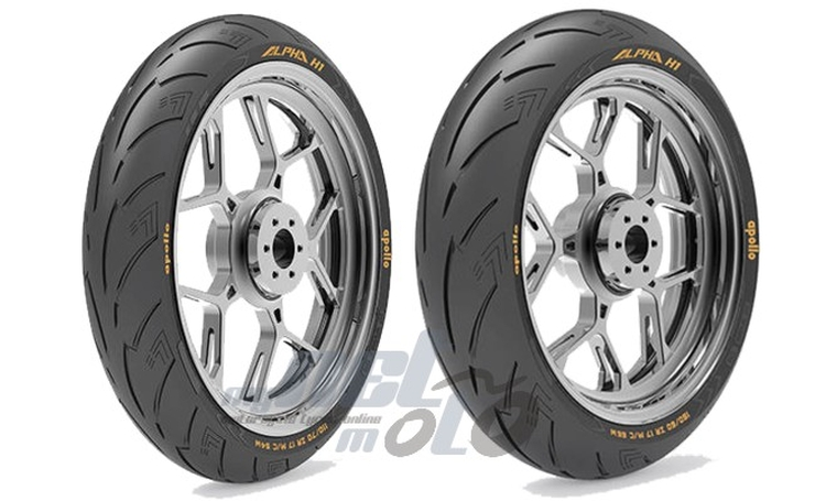 VREDESTEIN motorcycle tyres should be
