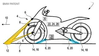 BMW Patent – Motorcycles learn to see the road and listen the tyres