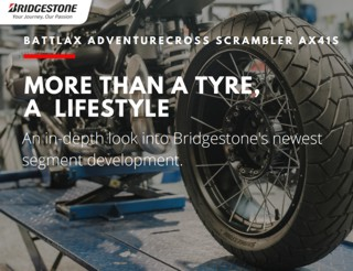 BRIDGESTONE ADVENTURECROSS SCRAMBLER AX41S
