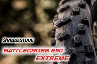 Bridgestone Battlecross E50 Extreme in 140/80 -18 (70M) NHS