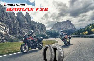 Bridgestone launches 2021 the new Battlax Sport Touring T32 motorcycle tyres