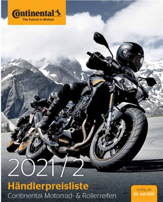 Continental is increasing motorcycle tire prices