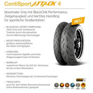 CONTINENTAL SPORT ATTACK 4 replace the Sport Attack 3