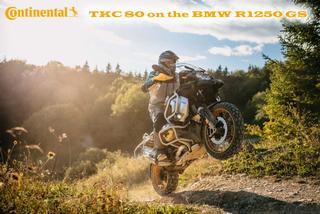 The boxer's new soles: Continental TKC 80 for BMW R 1250 GS and GS Adventure