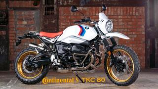 Continental TKC 80 for the 2021 BMW R nineT URBAN / GS