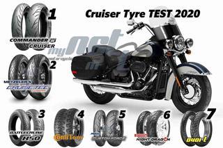 CRUISER TYRE TEST 2020