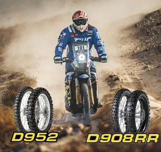 New designations broaden appeal of Dunlop off-road motorcycle range D952 und D908 RR