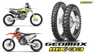 KTM and Husqvarna Motocross Modells 2021 on Dunlop Geomax MX-33 tyres