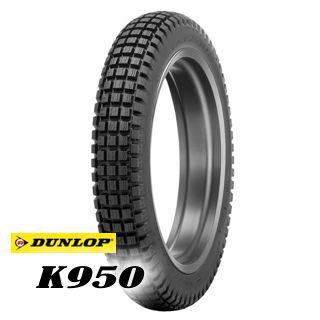 DUNLOP K950 TRIAL TIRE