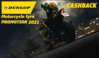 Dunlop starter en attraktiv reklamekampagne i år, hvis du køber et sæt Dunlop motorcykeldæk