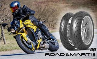 Dunlop presents the RoadSmart III Front in SP-Specification