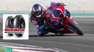 Pirelli DIABLO Supercorsa SP chosen as original equipment for the new CBR1000RR-R Fireblade