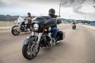 Several new Indian Motorcycle models equipped with tires of the blue elephant brand
