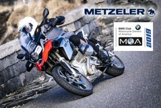 METZELER to become official Sponsor of the 2019 BMW MOA International Rally