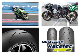 Metzeler brings RACETEC™ RR 18-Inch Sizing for Vintage Racing to North America