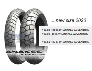 MICHELIN ANAKEE ADVENTURE NEW SIZE 2020