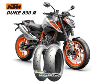 MICHELIN POWER CUP 2 - OE auf der KTM 890 DUKE R