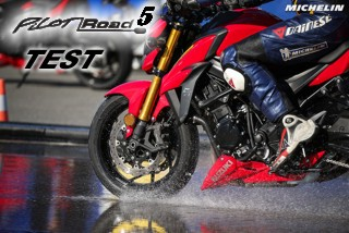 MICHELIN ROAD 5 - TEST IN SEVILLA