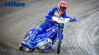 Mitas celebrates the 2020 World Championship title in the FIM Speedway Grand Prix with Bartosz Zmarzlik