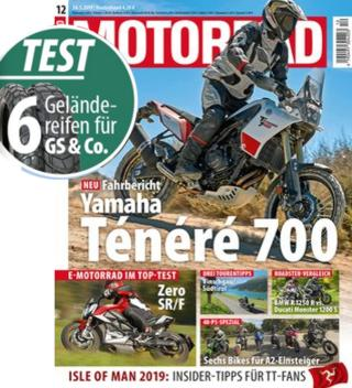 Enduro / Adventure TEST 2019 / BMW R 1250 GS