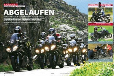 Touring Motorradreifen Test 2015