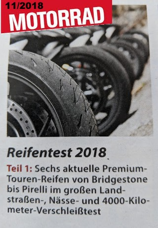 TOURING TEST 2018
