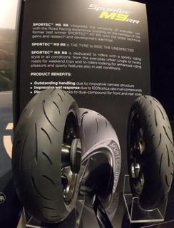 METZELER SPORTEC M9 RR wurde auf der Road Racing Night vorgestellt