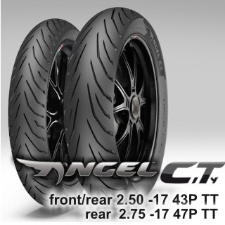 PIRELLI ANGEL CiTy in new sizes