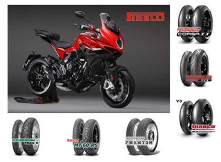 Pirelli tyres OE on 2020 motorcycle manufacturer ranges
