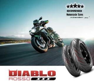 Pirelli DIABLO ROSSO III escogido como primer equipo en la supernaked Kawasaki Z H2