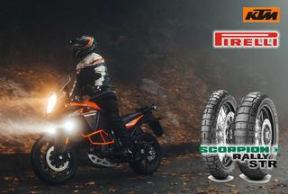 RIDE OUT EXPERIENCE 2020 PIRELLI SCORPION RALLY STR on KTM