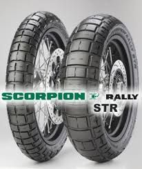 Persentation of the PIRELLI SCORPION RALLY STR