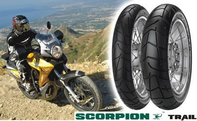 new motorcycle tyre fom pirelli scorpion trail mynetmoto. Black Bedroom Furniture Sets. Home Design Ideas