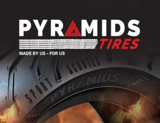 Pyramids motorcycle tires - new brand from Egypt