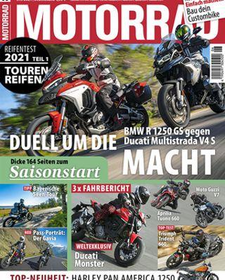 TOURING BIKE TIRE TEST - MAGAZIN MOTORRAD