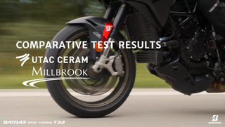 BRIDGESTONE Battlax Sport Touring T32: Comparative test results UTAC Ceram – Millbrook