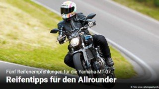 YAMAHA MT-07 TEST