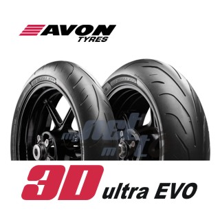 180/55 ZR17 (73W) 3D ULTRA EVO AV80 / AVON