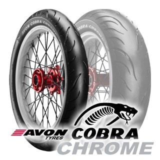 120/70 ZR19 (60W) COBRA CHROME AV91 / AVON