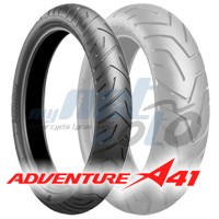 120/70 ZR17 (58W) A41 ADVENTURE / BRIDGESTONE