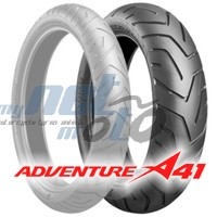 130/80 R17 (65H) A41 ADVENTURE / BRIDGESTONE