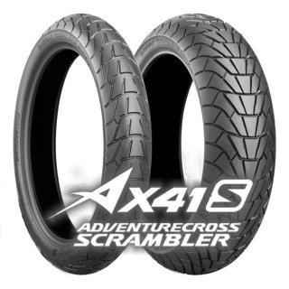 130/80 -17 (65H) ADVENTURECROSS SCRAMBLER AX41S / BRIDGESTONE