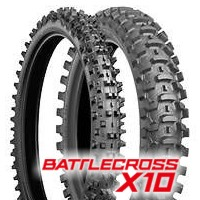 80/100 -21 TT (51M) X10 BATTLE CROSS SOFT / BRIDGESTONE
