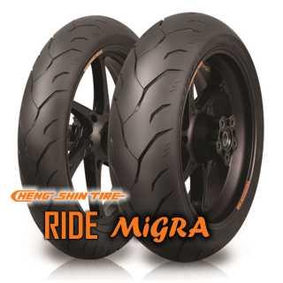 160/60 ZR17 (69W) RIDE MIGRA / CHENG SHIN CST