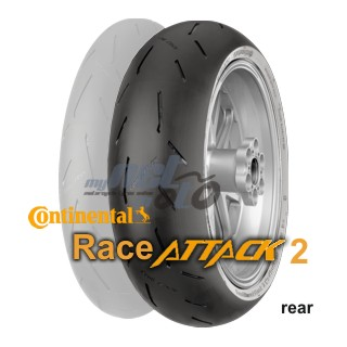 190/55 ZR17 75W RACEATTACK 2 MEDIUM / CONTINENTAL