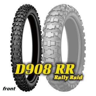 90/90 -21 TT (54R) D908 RR RALLEY RAID / DUNLOP