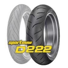 160/60 ZR17 (69W) SPORTMAX D 222 / DUNLOP