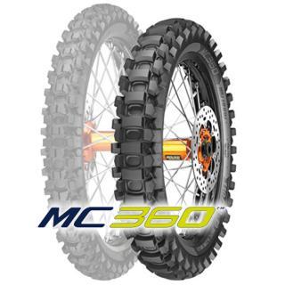 METZELER 140/80 -18 (70M) MC 360 HARD